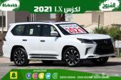 لكزس LX570 موديل 2021 بلاك ادشن سعودي