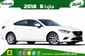 مازدا 6 خليجي موديل 2018