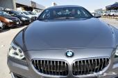 BMW 640 2013 نظيف جدآ