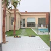 شاليه راقي مسبح بسخان للايجار استراحه استراحات للاجار جده