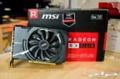 كرت شاشه AMD MSI RX 560 اربعة جيجابيت