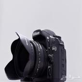 كاميرة نيكون D80 مع عدسة 50 ملي