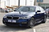 BMW 530i 2018 كيت ام سبورت كاملة المواصفات