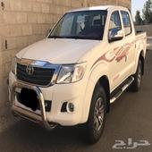 هايلوكس دبل مخزنه 2015 سعودي شرط وكاله القير عايدي بنزين