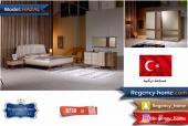 غرف نوم الوان خشبية بتصاميم مميزة