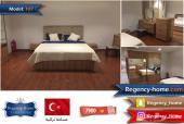 غرفة نوم جديدة صناعة تركية بتصميم عصري