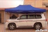 مظلات متنقلة للسيارة والكشتات والبسطات
