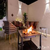 شاليهات شمال الرياض للإيجار اليومي شاليهات آرت تصميم فندقي