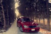 مرسيدس 350 s لون مميز احمر AMG