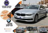 BMW 520I موديل 2019 - زيرو كم - مع ضمان دولي