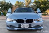 سياره BMW  اللون ازرق سماوي  موديل 2015 الفئه