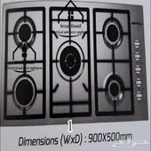 غاز سطحي مقاسات مختلفة 5 4 2 عيون إيطالية