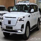 نيسان باترول بلاتينيوم 6 سلندر 2021 سعودي