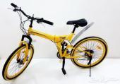دراجات جبليه مقاس 24 و26 قابله للتطبيق