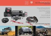 Warn Winch 9.5Xp Synthetic - Jeep