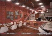 مصمم مقاهي وكوفي شوب ومطاعم بتصاميم حديثة
