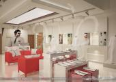 تصاميم ديكور للمعارض التجارية والمطاعم