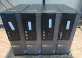 اربعة اجهزة مكتبية ديل 9020 Core-i5 للبيع