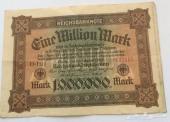 عملة اثرية ورقية 1923 ميلادي