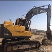 معدات بوكلينات للايجار باليوميه وقطوعه شمال الرياض