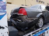 للبيع شيفرولية كابريس 2012 LTZ مصدوم رصاصي