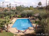 فيلا فخمة للإيجار 5 غرف عصرية بمراكش المغربية