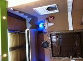 ديكورات جبسية مجالس تراثية شعبية ديكورات مغربية ودهانات أسقف مستعارة وشرائح المنيوم وقواطع جدران جبس