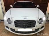 للبيع بنتلي كونتيننتال GT موديل 2012