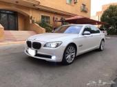 للبيع BMW 740 مخزن 2012بدي وكاله مالك واحد