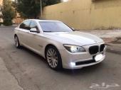 للبيع BMW 740 مخزن 2012 مالك واحد دون رش