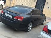 Lexus GS350 Black in good condition- لكزس جي اس أسود 350 أمريكي