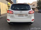 هيونداي سنتافي 2011 57000 كم أبيض نظيفة عجلات جديدة