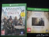 شريط Assassins Creed Unity مع كود للبدل