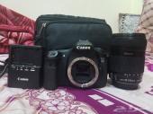 Canon EOS 60d  كاميرا كانون 60 دي شبه جديد