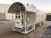 محطات وخزانات تعبئة وقود متنقلة