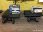 PS4 و PS3 للبيع مع الالعاب