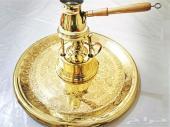 بابور(سبرتاية) مع ركوة نحاسية صناعة يدوية