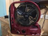 جهاز مروحة وكشاف وراديو للبيع