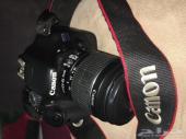 كاميرا كانون550D EOS