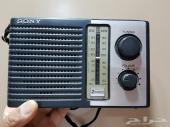 لاهل الاصلي راديو سوني صناعة يابانية