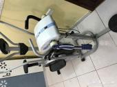جهاز دراجة رياضية مع ملحق هزاز للخصر