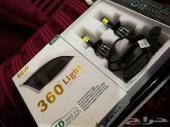 للبيع LED  مقاس H7 ثمانين واط يركب لاغلب السي