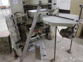 ادوات (مطبعة ورق) للبيع . طابعه وقصاصه آلية .