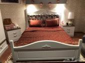 غرفة نوم شبه جديدة للبيع ع السوم
