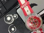 ساعة سواتش اصدار حصري جيمس بوند007