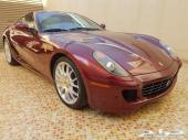 للبيع فراري GTB 599 موديل 2008 عداد 14000 KM