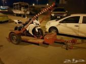 نقل دراجات نارية داخل مدينة جدة