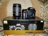 كاميرا نيكون 7200 دي احترافية