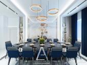تصميم ديكور فلل شاليهات شقق محلات مطاعم
