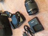 كاميرا كانون شبه جديده D1100 canon